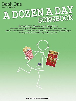 A Dozen a Day Songbook Book 1 By Miller, Carolyn (ADP)